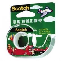 3M Scotch 104 隱形膠帶 + 輕便型膠台