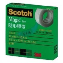 3M Scotch 810-1/2 隱形膠帶(盒裝)